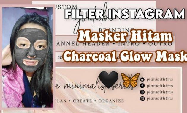 Nama Filter IG Masker Wajah Hitam