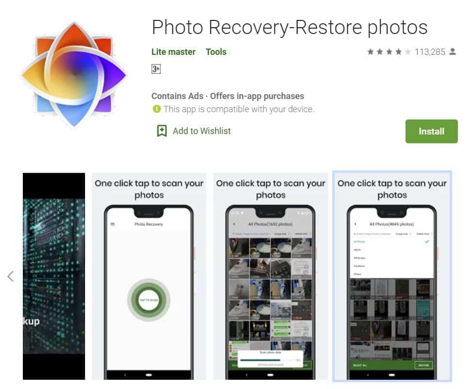 Download-dan-install-Foto-Recovery-dari-Google-Play-Store