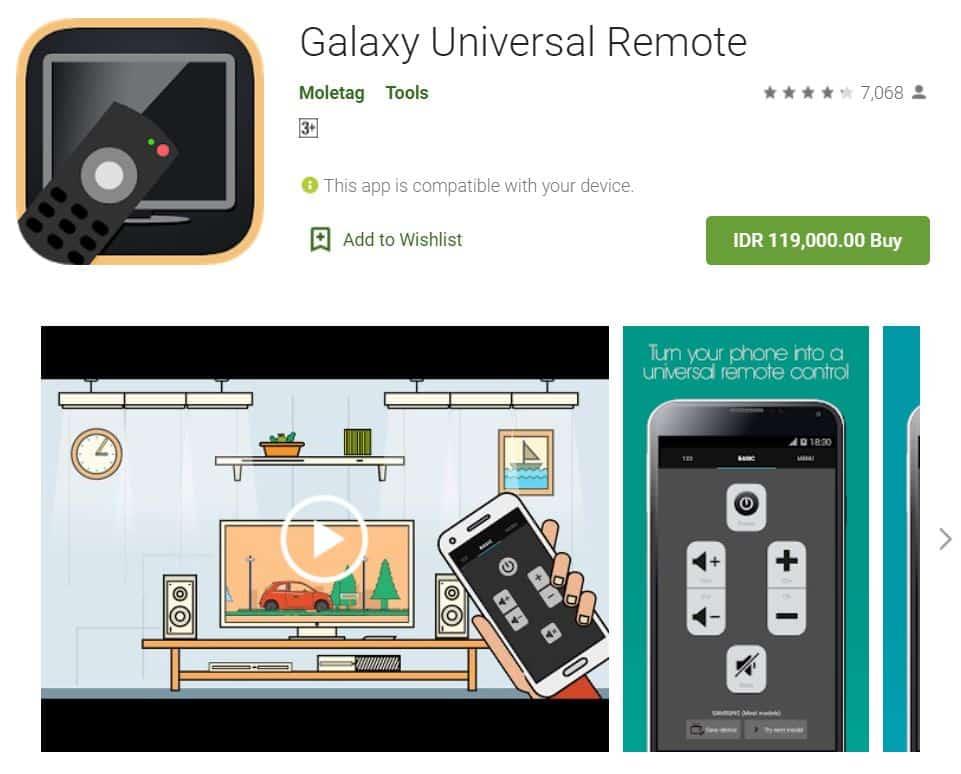 Galaxy-Universal-Remote