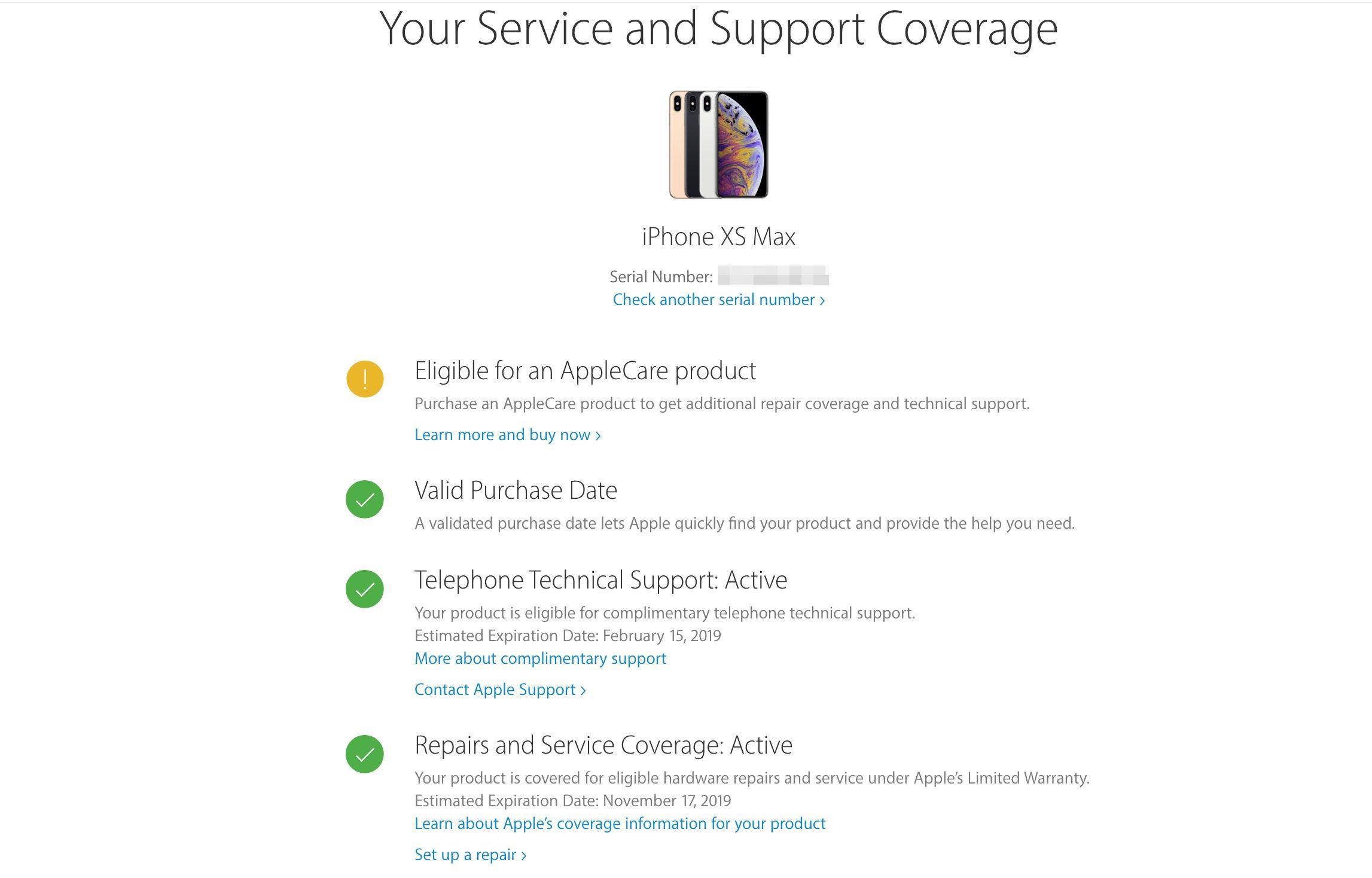 Klik-pada-menu-Service-and-Repair-pilih-See-your-service-and-support-coverage