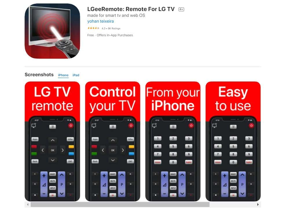 LGeeRemote-Remote-for-LG-TV