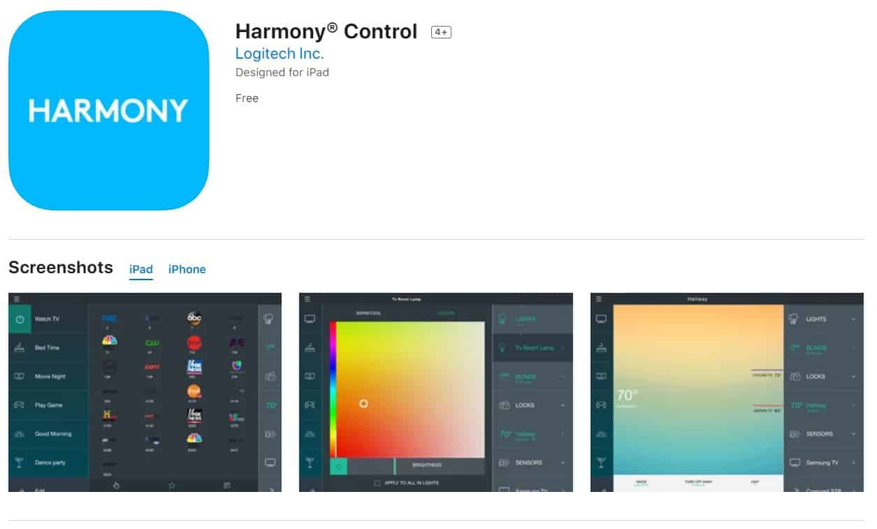Logitech-Harmony-Control