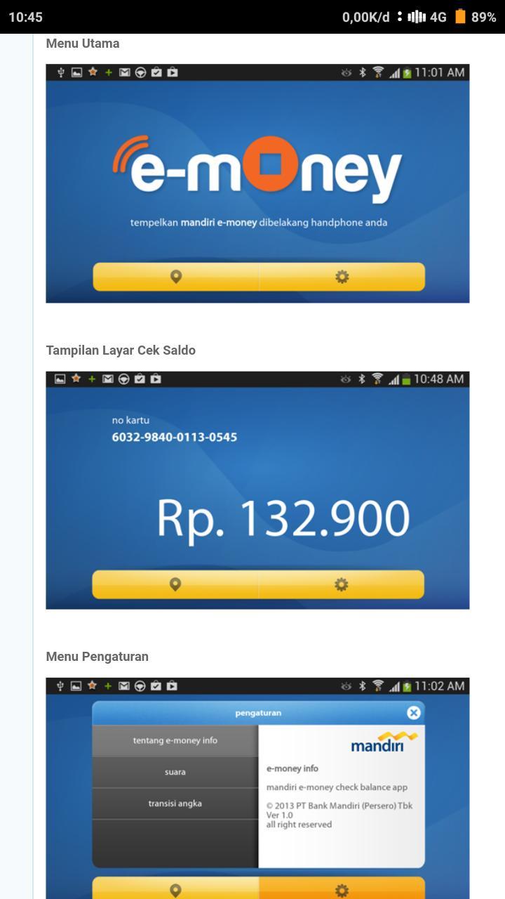Menggunakan-Aplikasi-Mandiri-e-Money-Info