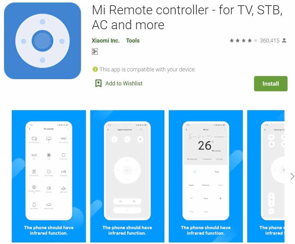 Mi-Remote-Controller