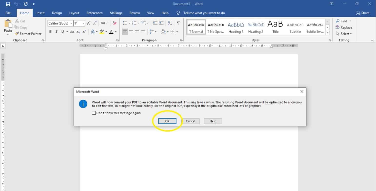 Nantinya-akan-muncul-Pop-Up-yang-memberikan-notifikasi-bahwa-file-PDF-tersebut-akan-segera-diconvert-ke-dalam-bentuk-Word