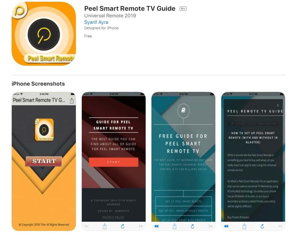 Peel-Smart-Remote