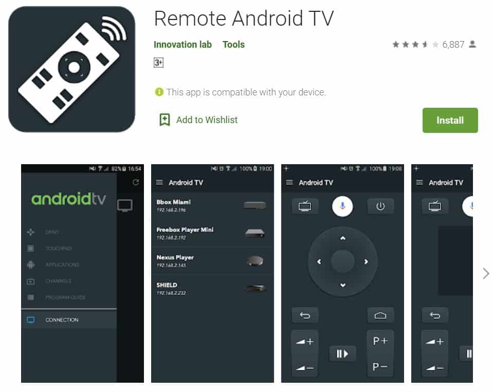 Remote-Android-TV