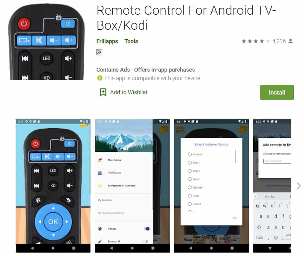 Remote-Control-for-Android-TV-Box-Kodi