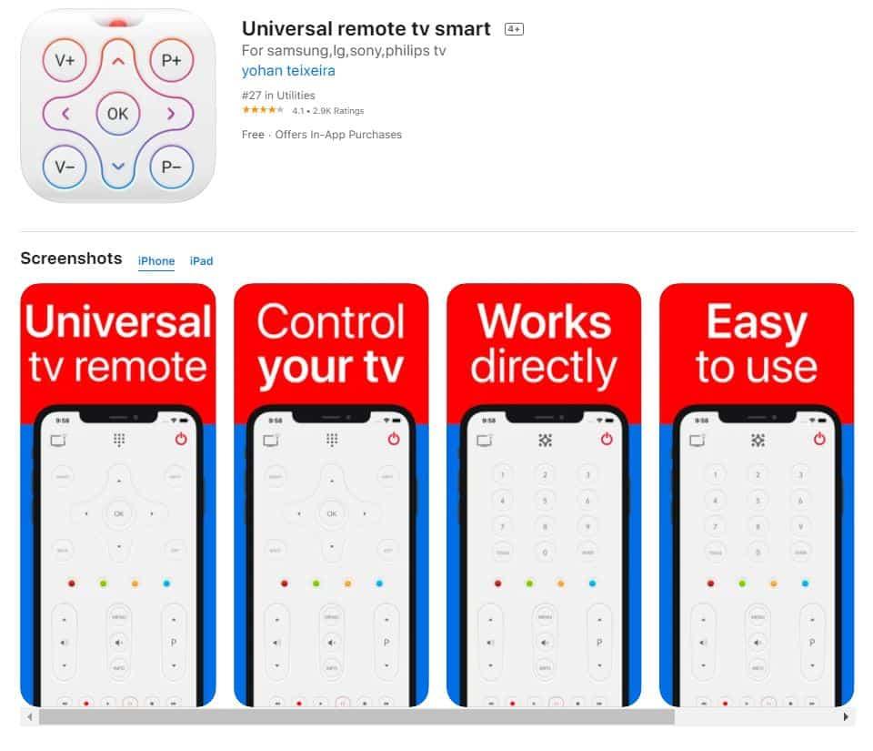 Universal-Remote-TV-Smart