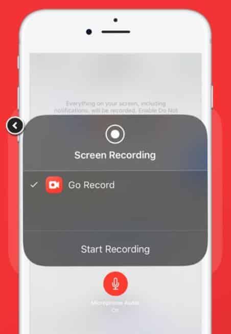 Klik-tombol-tersebut-kemudian-ganti-opsi-Screen-Recording-menjadi-menggunakan-Go-Record
